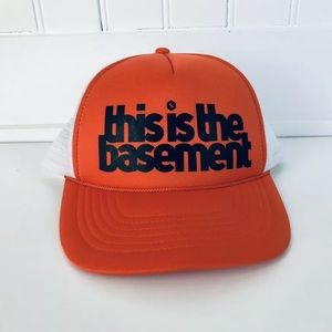 Trucker Hat Snapback Cap THIS IS THE BASEMENT